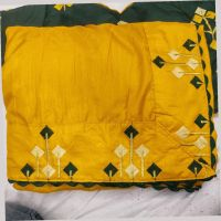 LESS WITH BLOUSE SAREE EMBROIDERY DESIGN