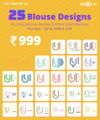 25 South indian blouse design pack vol-1