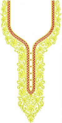 new neck design and jaree-dhago