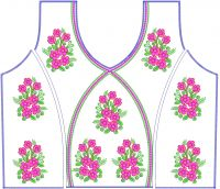 only blouse embroidery design