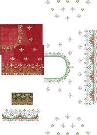 Blouse , Lace Paper Concept