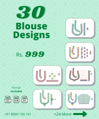 30 South indian blouse design pack vol-6