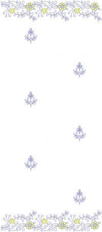 duppata embroidery design