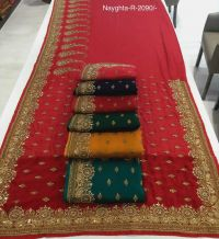 sauth saree embroidery design
