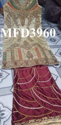 cording zarkan  panel singale head embroidery design