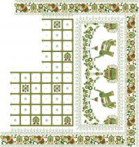 gujrat test new box pallu sarees design