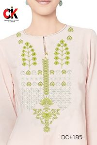 kurti neck embroidery design