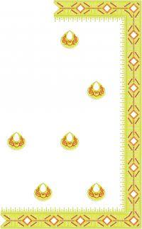 Fantastic Saree embroidery design