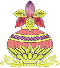 kalash embroidery design
