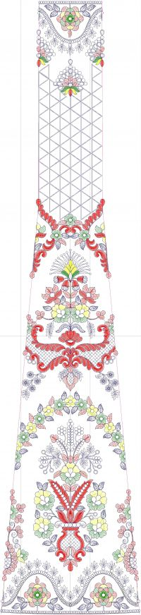 Fantastic Kali embroidery design