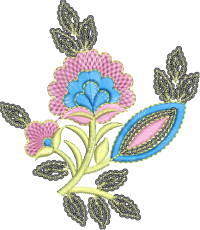 butta embroidery design