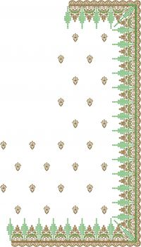 Fantastic Saree embroidery design