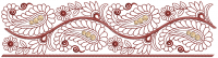 simple lace  embroidery design