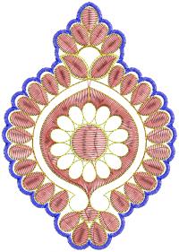 cut work  butta embroidery design