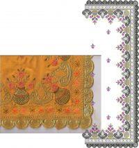 cutwork flower c pallu saree embroidery design