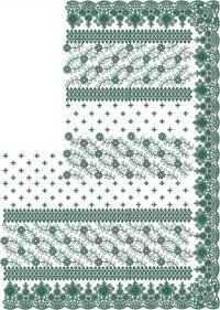 cutwork jari test c pallu saree embroidery design
