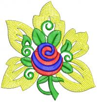 creative butta embroidery design