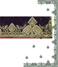 diamond test c pallu design