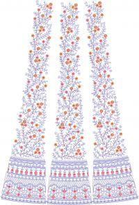 New designer kali Embroidery design