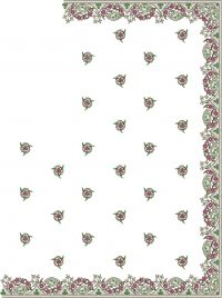 flower test diamond test c pallu design