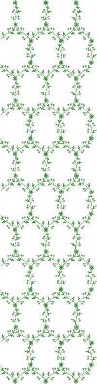allover garment embroidery design