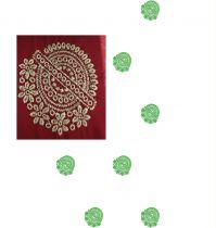 single jaree butta consept saree