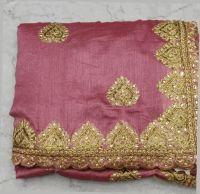 c-pallu jari concept saree embroidery design