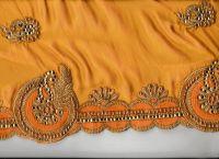 c-pallu foam saree embroidery design