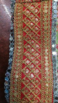 3 mm with cording lace embroidery design