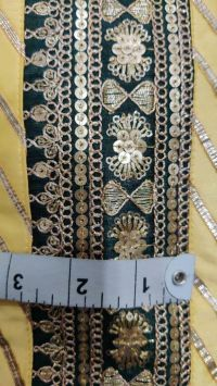 5 + 2 mm with cording lace embroidery design