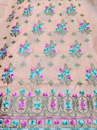 halka jaal concept daman embroidery design