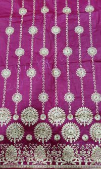 125 halka daman jari embroidery design