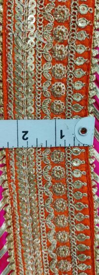 5 + 2 mm lace embroidery design