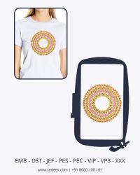 Creative  embroidery design