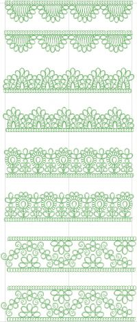 FANCY LACE EMBROIDERY DESIGN