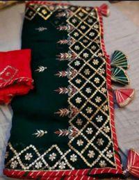 Cording Saree  Box Pallu Test embroidery design