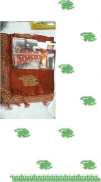 single jaree skt-pallu saree embroidery design