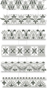 cording lace 6 design