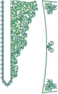 Collar & Neck Embroidery Design For Mens Kurta
