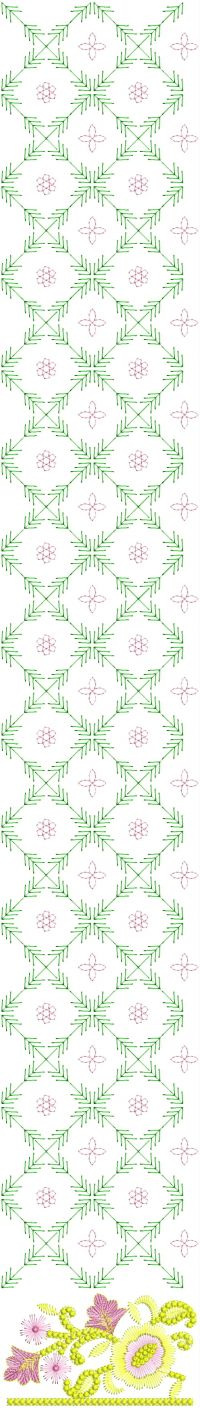 new daman embroidery design