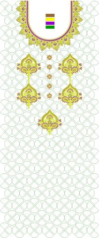 new concept suit embroidery design