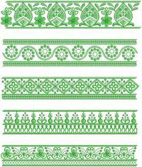 single needle lace embroidery design