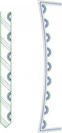 Caller & Neck Embroidery Design For Mens Kurta