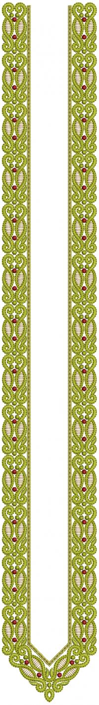 Neck Embroidery Design For Mens Kurta