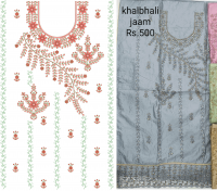 Cording Top Embroidery Design