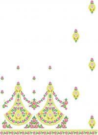 patali saree embroidery design
