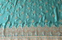 cutwork saree embroidery design