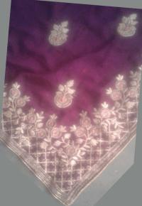 Daimond Test Saree Embroidery Design