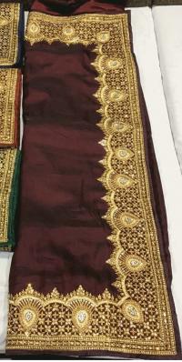Jari Test Saree Embroidery Design