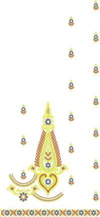 patali pallu saree embroidery design